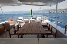 Motor yacht MARHABA - Top Deck Dining